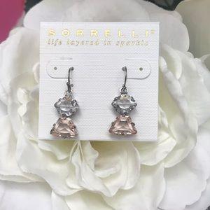 Sorrelli Blushing Bride Dangle Earring, NWT